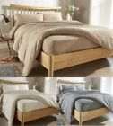 Teddy Fleece Extra Deep Fitted Sheets Cozy Warm Bed Linen Sheet All Sizes