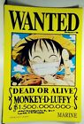 """Anime One Piece Pirates Wanted Poster 16.5"""" x 11.25 Inchs"""