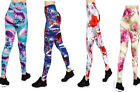 NEW WOMENS STRETCH SLIM FIT BUTTERY SOFT ABSTRACT LEGGINGS SKINNY PANTS  M L XL