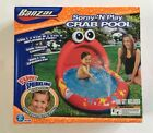 New Banzai Spray 'N Play Crab Inflatable Sprinkler Wading Pool