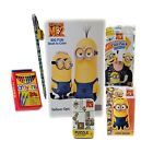 Dispicable Me 3   6Pc Travel Play   Color   Grab and Go   Fun Set