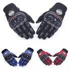 Touch Screen Motorcycle Gloves Breathable And Wearable Black Blue Red Colors