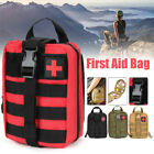 First Aid Kit Tactical Survival Kit Molle Rip-Away EMT Pouch Bag IFAK Medical US
