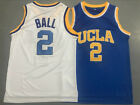Lonzo Ball #2 NCAA UCLA Bruins Throwback Los Angeles Lakers Basketball Jersey