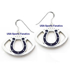 Indianapolis Colts Football Logo Pendant Earrings With 925 Earring Wires on eBay