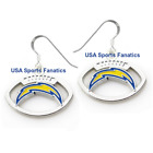 Los Angeles Chargers Football Logo Pendant Earrings With 925 Earring Wires $7.99 USD on eBay