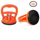 2 Pcs LCD Screen Opening Sucker Suction Cup For iPhone iPad Samsung Red