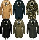 Navahoo ASSASSIN Herren warm Winterjacke winter Mantel winter Parka Jacke Anorak