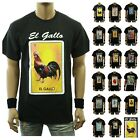 Fashion Graphic T-Shirt Funny LOTERIA Rooster Mexico Spanish Hipster Casual Tee image