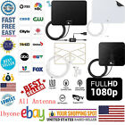 1byone Antenna TV Digital HD 200 Mile Range Skywire TV Indoor 1080P 4K Amplifier