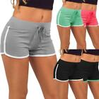 Women Casual Cotton Running Sports Shorts Yoga Gym Jogging Summer Beach Pants