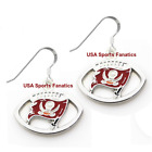 Tampa Bay Buccaneers Football Logo Pendant Earrings With 925 Earring Wires