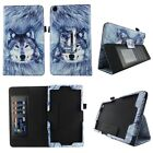 NuVision TM800W560L 2017 Tablet Case Premium Pu Leather Folio Stand Cover