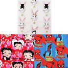 MARVEL Spiderman  Rabbits  Betty Boop Quilting Bunting Cotton Fabric FQ Meter £3.2 GBP on eBay