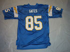 ANTONIO GATES #85 SAN DIEGO CHARGERS ADULT REEBOK NFL REPLICA JERSEY FREE SHIP $79.99 USD on eBay