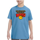 Youth Kids T-shirt I May Be Small But I'm The Boss k-568