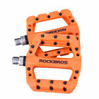 ROCKBROS MTB Widen Nylon Pedals Bicycle Pedal Bearing Mountain Bike Pedals