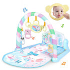 3 in 1 Fitness Baby Gym Play Mat Lay Play Music And Lights Fun Piano