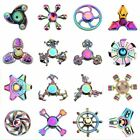 Metal Tri-Spinner Fidget Spiner Toy Creative Colorful EDC Hand Spinning Toy For