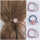 Accessories Hair Ties Elastic Rope Rubber Ring Ponytail Holder Pearl Hairband