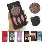 PU Leather Case For iPhone 7 Luxury Dream Catcher Glitter Leather Cover Wallet F