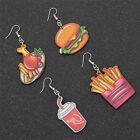 1 Pair Cute Foods Design Stud Earrings Hamburger Cookies Ear Stud For Women Gift $1.75  on eBay