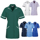 PERSONALISED TEXT Healthcare Tunic Dentistry Vets Nurse Medical Therapy Uniform