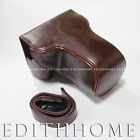 Digital Camara Leather Case for Canon EOS M3 (18-55mm Lens)