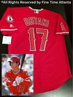 NEW Majestic Shohei Ohtani Los Angeles Angels Men's Red / Alternate Jersey Trout