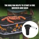 Portable Mini Electric BBQ Fan Air Blower for Outdoor Camping Picnic Grill Barbe