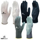 144 Pairs Delta Plus VE702 Polyester PU Coated Builders Mechanics Work Gloves