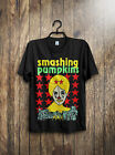 VTG Smashing Pumpkins Concert Tour T Shirt 1994 Frail & Bedazzled Reprint All Sz image