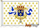 ROYAL STANDARD OF THE KING OF FRANCE CUSTOM MADE TO ORDER VARIOUS FLAG SIZES