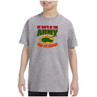 Youth Kids T-shirt My Dad's In The Army And I'm Proud k-3430