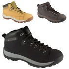 Mens Steel Toe Lace Up Safety Mens Work Boots Waterproof Groundwork Shoes Sizes