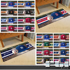 "MLB Teams Logo Sports Baseball Bat Runner Area Floor Carpet Mat Rug 30"" x 72"" on Ebay"