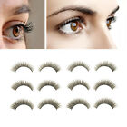 3 Pair Handmade Black Eyelashes Thick Long Natural Fake Eye Lash Cosmetic Tool