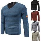 Mens Slim Fit Knitwear Casual Knitted Cardigan Pullover Jumper Sweater Tops Coat