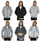 Men's The North Pole Solid Heavy Cotton Fleece ZipUp Hoodie