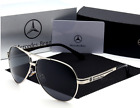 Luxury Brand Sunglasses Polarized Men Driving Glasses Mercedes-Benz AMG