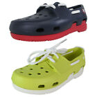 Crocs Kids Beach Line Lace Up Boat Shoes