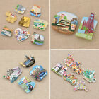 Внешний вид - Fridge Magnets World Travel Souvenir Refrigerator Magnetic Stickers Worldwide