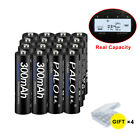 8 16 24 32 pack AAA 900mAh Rechargeable Battery 1.2v Ni-MH For Solar Lights LED
