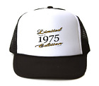 Trucker Hat Cap Foam Mesh Birthday Limited Edition Made Born In 1975