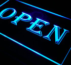 Led OPEN Sign For Cafe Bar Pub Neon Light On Off Switch Restaurant Decoration