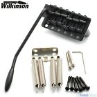 WILKINSON WVCSB STEEL BLOCK 6-Hole Tremolo Bridge for Vintage Stratocaster Strat