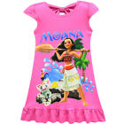 Dress For Girls Kids Moana Cosplay Costume Sleeveless Princess Halloween Bow