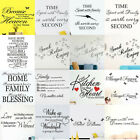 Wall Stickers! Various Size Interior Decal Transfer Home Art Decor Quote Sticker