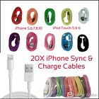20X iPhone/iPod Touch Lightning Charge Cables For iPhone 5-10 & iPid Touch 5 & 6