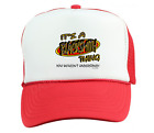 Trucker Hat Cap Foam Mesh It's A Blacksmith  Thing You Wouldn't Understand